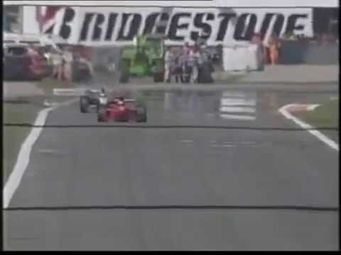 F1 1998: Michael Schumacher Amazing Overtake on Mika Hakkinen (Monza) - F1 Highlights HD