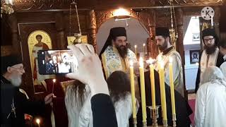 Monastic Tonsure (becoming A Monk) In The Orthodox Monastery St. Stephen In Lipovac (subtitled)