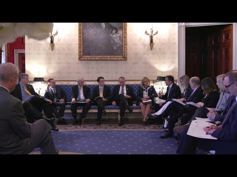 President Trump Hosts the 2018 Business Session with Our Nation's Governors