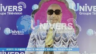 GRAND REPORTAGE AVEC KOFFI OLOMIDE VISITE UNIVERS GROUPE TELEVISION