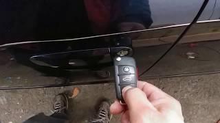 Audi A4 (key fob reprogramming)(reprogramar la llave)