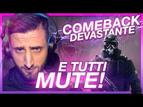 COMEBACK E TUTTI MUTE!