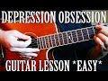 "How to Play ""Depression & Obsession"" by XXXTentacion on Guitar *EASY* *CORRECT WAY*"