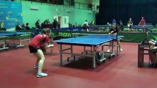 Чемпионат Москвы 2016 Анастасия ИТКИНА - Анна КРАСИКОВА