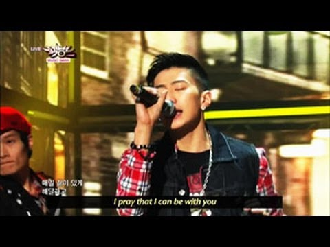 [Music Bank w/ Eng Lyrics] Jay Park -  JOAH (2013.04.27)