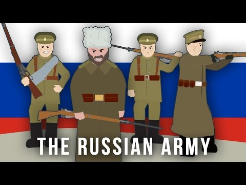 WWI Factions: The Russian Army