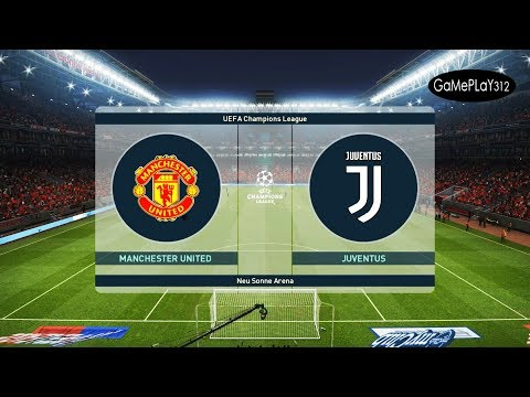 PES 2019 - MANCHESTER UNITED vs JUVENTUS - UEFA Champions League [UCL] - Gameplay PC
