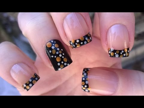 Two Easy Party Nail Art Designs