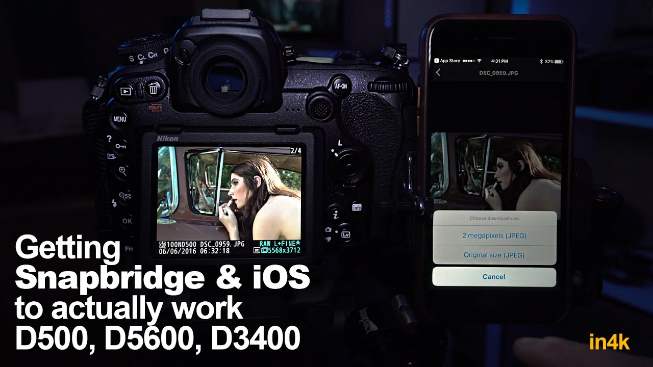 Getting Nikon Snapbridge and iOS to actually work - Tips in 4k