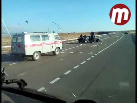 Авария на трассе Кяхта - Улан-Удэ