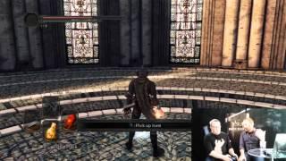 Dark Souls 2 Scholar of the First Sin PS4 Gameplay Livestream Part 1 Developer Walkthrough