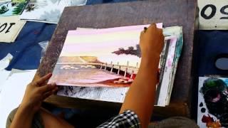 Myanmar Street Painter