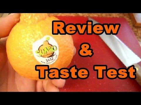 Sumo Citrus Mandarin Orange Review & Taste Test