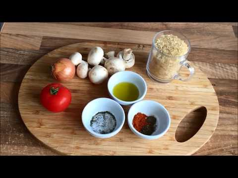 Günstig und gut kochen: DIY Pilz-(Gemüse) Reis, vegetarisch (Rezept 01)