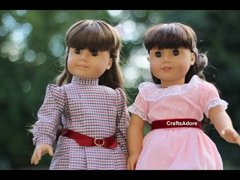 Opening American Girl Doll Pleasant Company WB Samantha Parkington & BeForever ~HD~