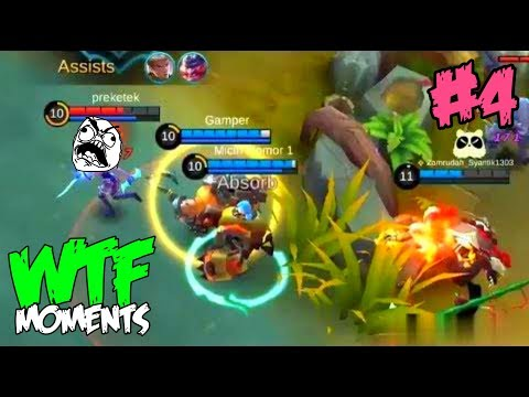 Mobile Legends WTF Funny Moments 4
