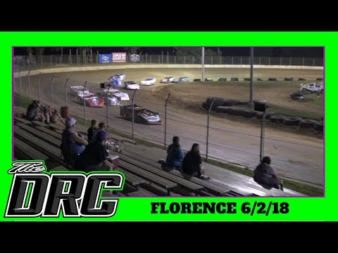 Florence Speedway | 6/2/18  | Crate Late Models