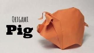 Origami Pig / Piggy  (hoàng Tiến Quyết)