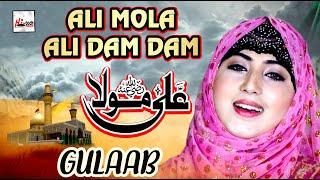 Gulaab Latest Beautiful Naat 2020 | Ali Mola Ali Dam Dam | Gulaab