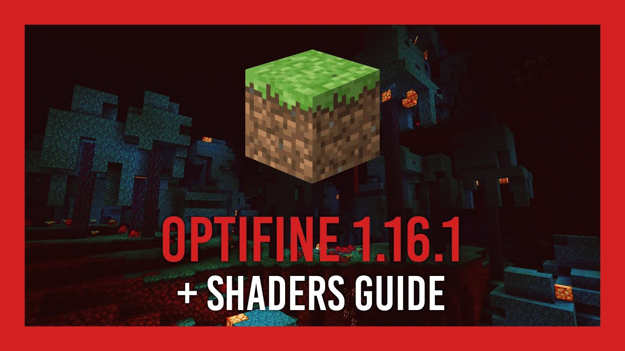Optifine + Shaders for Minecraft 8.86  Complete Crash Course