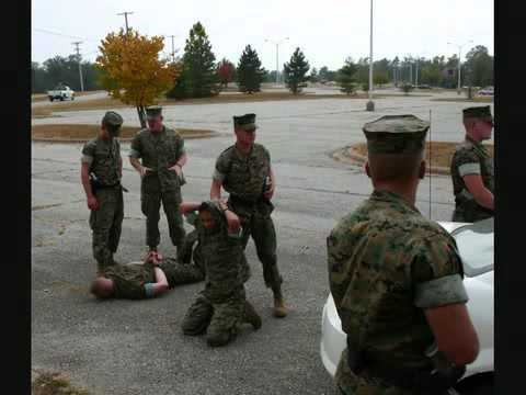 US Marine Corps Military Police and Embassy Security Guards - YouTube