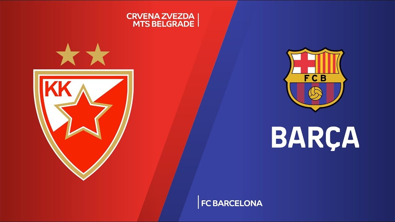 Crvena Zvezda mts Belgrade - FC Barcelona Highlights | Turkish Airlines EuroLeague, RS Round 4