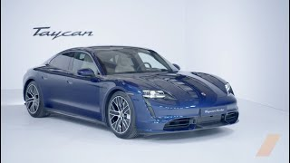 Porsche Taycan Turbo S FIRST LOOK