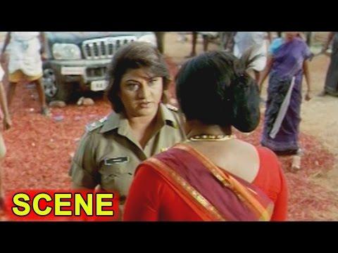 Malasri & Telangana Sakuntala Action || Kiran Bedi  Movie || Malasri, Ashish Vidyarthi