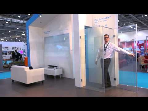 ESG Switchable™ LCD Privacy Glass at ECOBUILD 2013