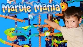 HUGE Marble Race Toy Unboxing Marble Mania Galactic Marble DIY Playset AllToyCollector Toby Present