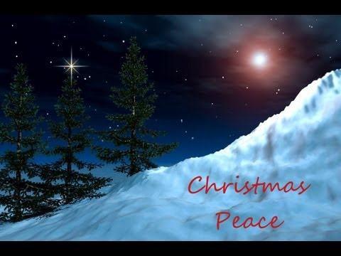 christmas peace relax with instrumental christmas music and winter