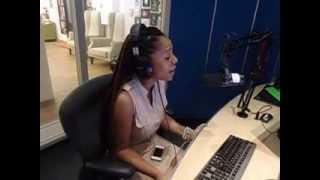 Singer Lungi Naidoo on the Kwasa Breakfast Show