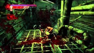 Splatterhouse Walkthrough - Phase 4: The Meat Factory - Part 1  [HD] (X360, PS3)