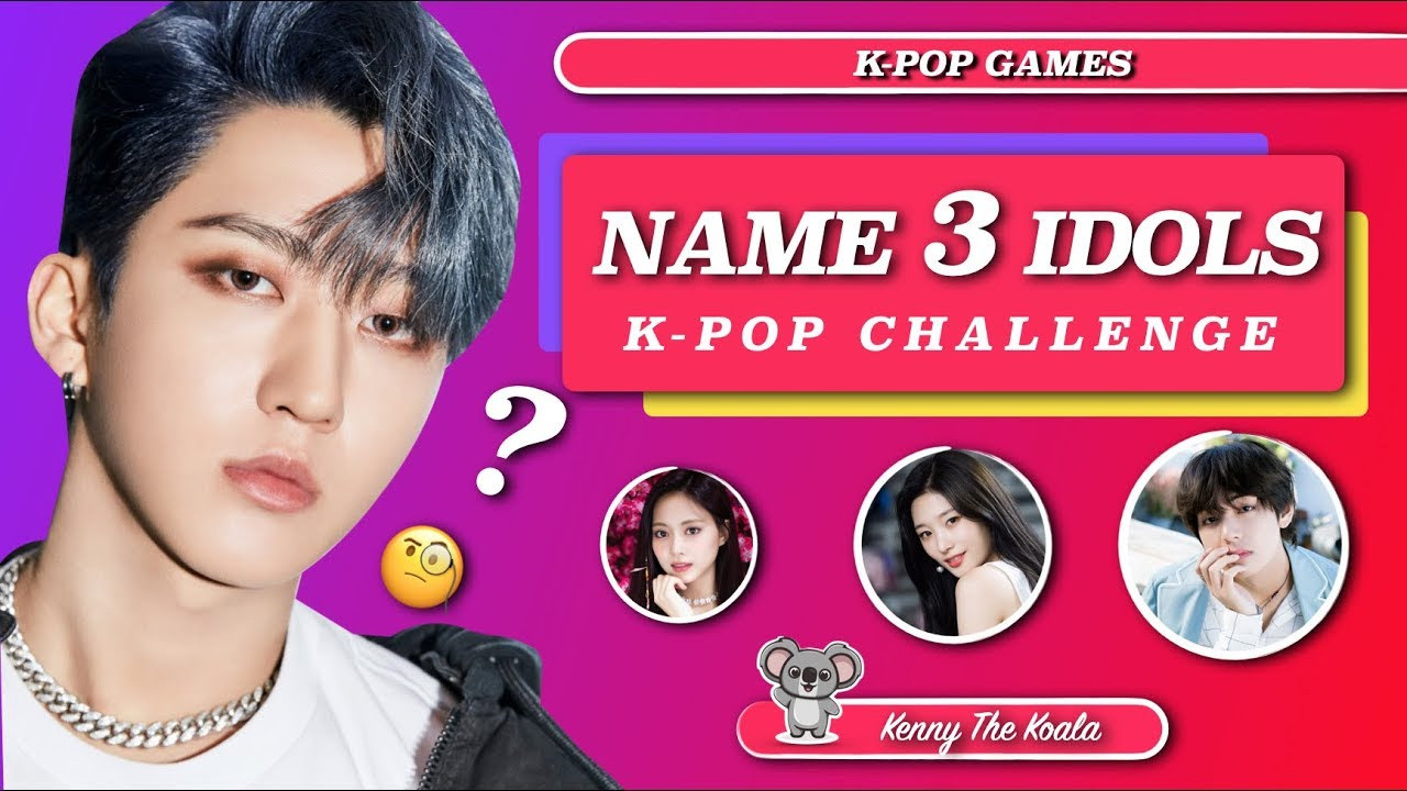 Name 3 Idols Challenge! |K-POP GAME|