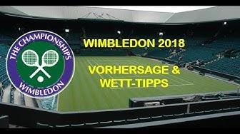 WIMBLEDON 2018 - TENNIS - WETT TIPPS