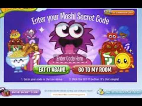 New Moshi Monsters secret codes for 2013