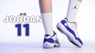 Air Jordan 11 Low Concord | Sketch | On Foot 4K Review