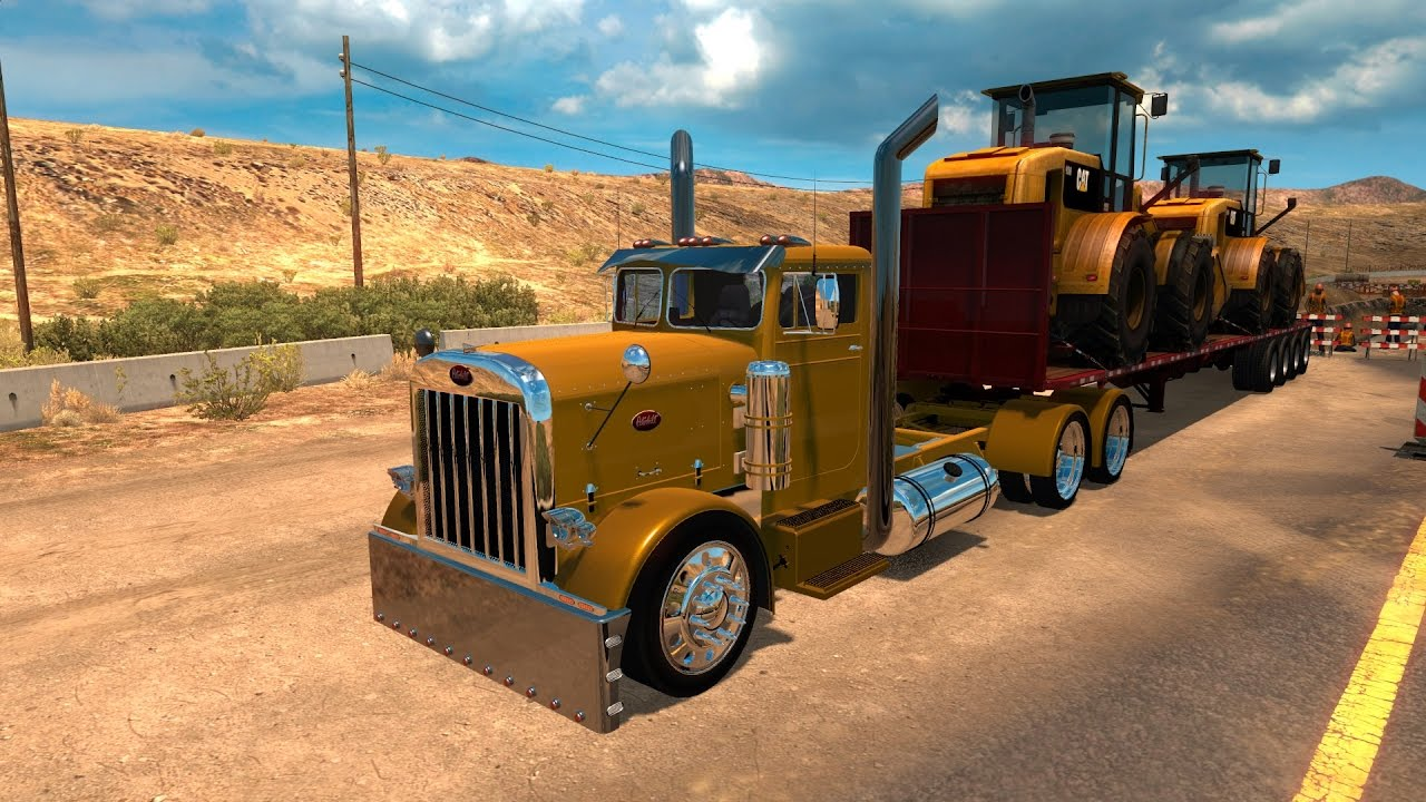 American Truck Simulator Customized 351 Peterbilt
