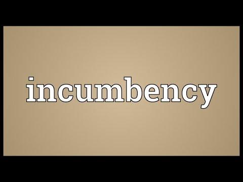 Header of incumbency