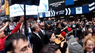 fonseca - times square NYC 2013
