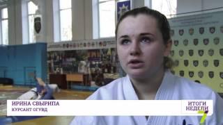 Одесситка готовится к престижному турниру по карате в Японии