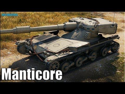 Бой на новом ЛТ 10 Британии ✅ World of Tanks Manticore