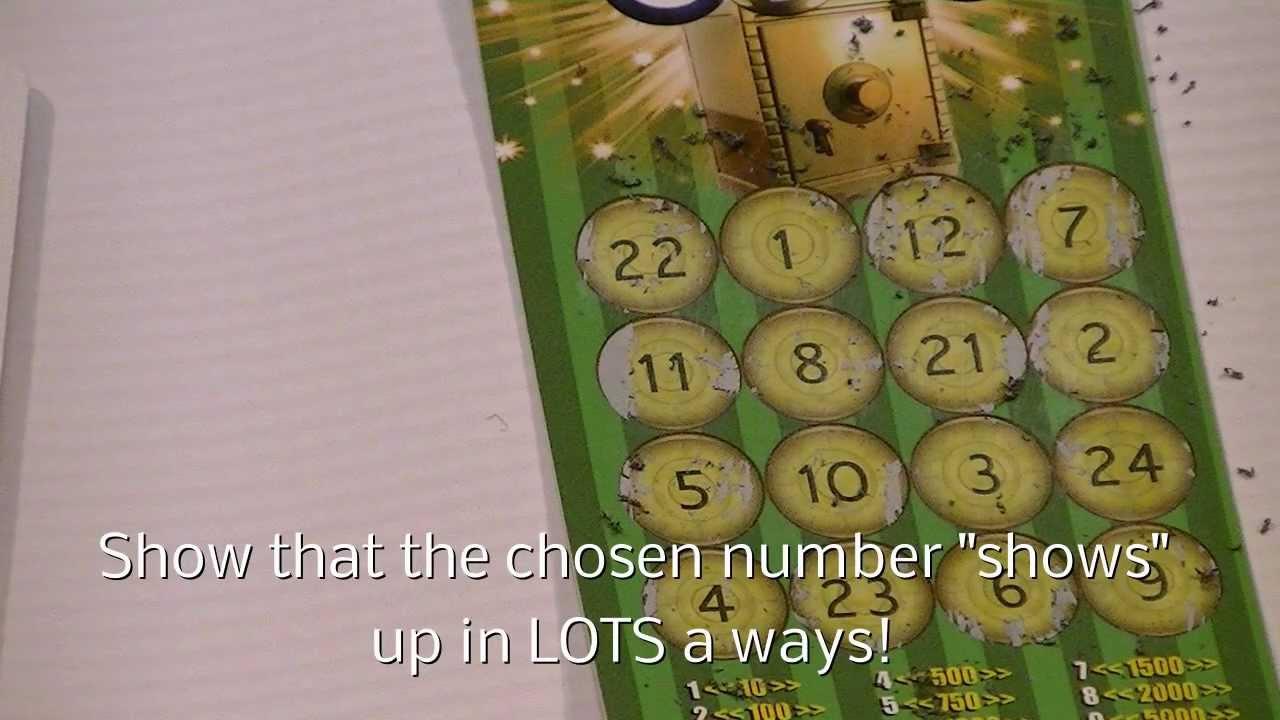 Lotto Square - Magic trick