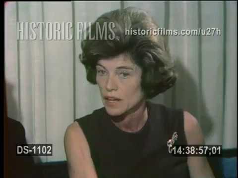 A VIST TO THE HOME OF EUNICE KENNEDY SHRIVER & FAMILY 1967