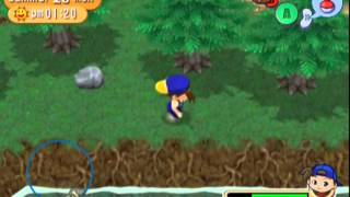 Lets Play Harvest Moon Magical Melody End Lake King