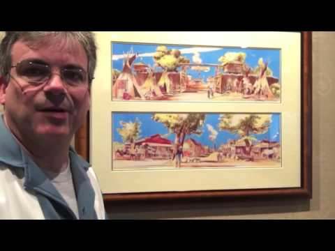 Disneyland Hotel Art Collection
