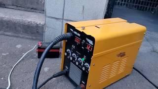 Сварка медных проводов неплавящимся электродом(В аргоне. Для соединения обмоток в двигателе., 2016-08-01T19:03:26.000Z)