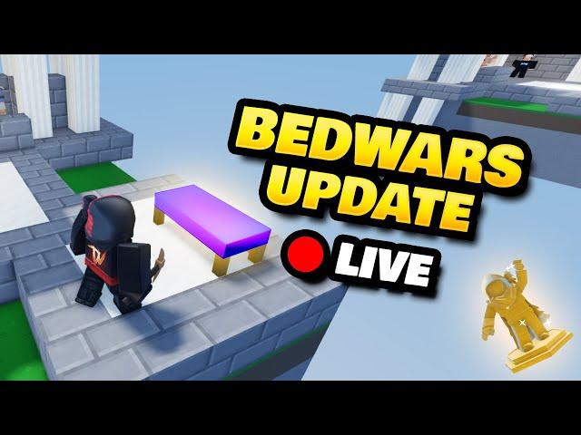 Roblox BedWars Update LIVE Stream + DV Trophy