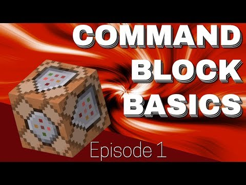 Command Block Basics In Minecraft: How To Use Basic Commands With Command Blocks Ep1 (Avomance)