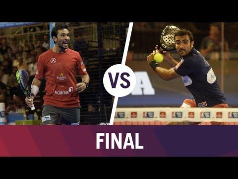 Resumen Final Bela/LIma  VS  Paquito/Sanyo Granada Open 2017